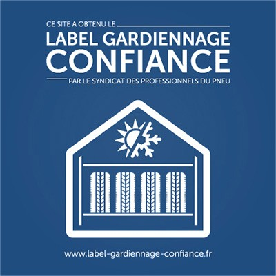 Logo du label gardiennage confiance