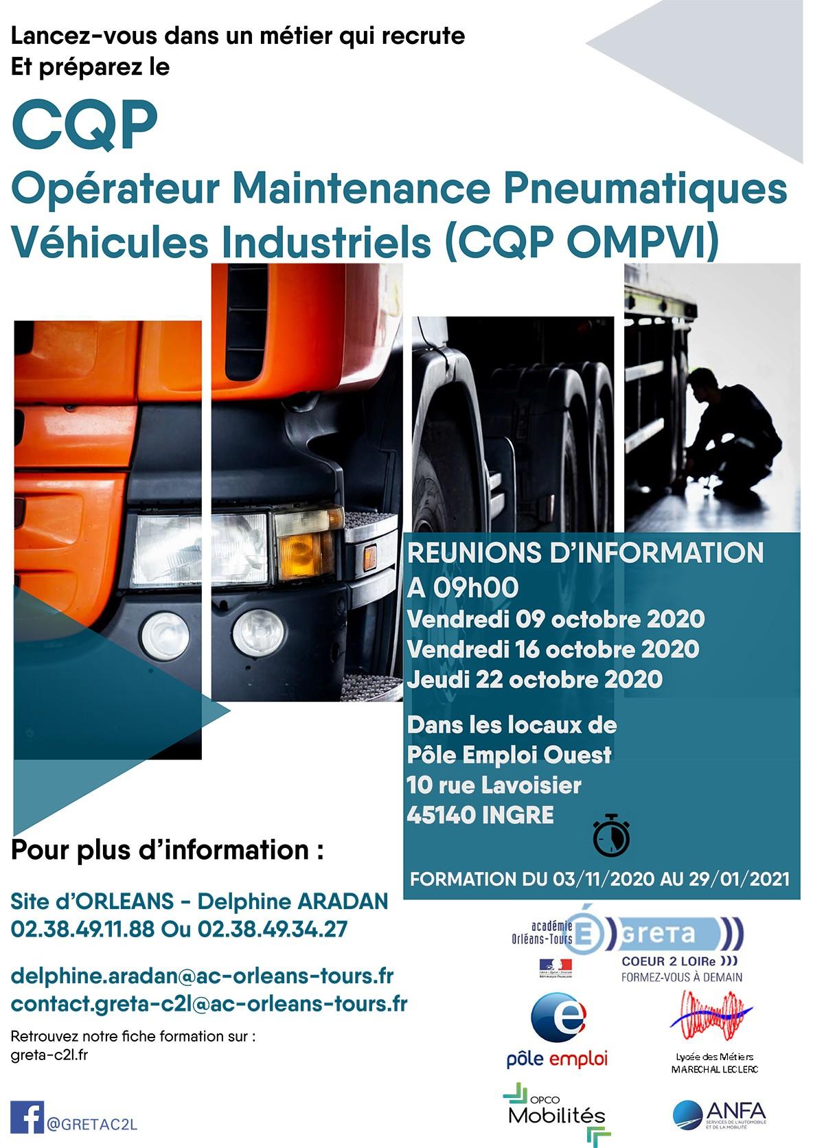 Affiche du Technopolys CQP OMPVI de la Motte Servolex